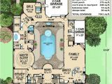Courtyard Pool Home Plans Plan 36186tx Luxury with Central Courtyard Luxury House