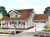 Cozy Cottage Home Plans Cozy Cottage with Removable Garage 52222wm