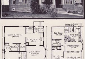 Craftsman Bungalow House Plans 1930s 1920s Craftsman Bungalow House Plans 1920 original