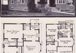 Craftsman Bungalow House Plans 1930s 1920s Craftsman Bungalow House Plans 1920 original