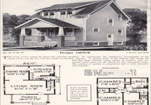 Craftsman Bungalow House Plans 1930s 1920s Craftsman Bungalow House Plans 1930 Craftsman