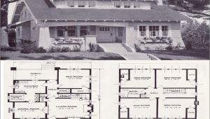 Craftsman Bungalow House Plans 1930s 1930s Craftsman Bungalow House Plans House Design Plans
