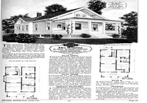Craftsman Bungalow House Plans 1930s 1930s Craftsman House Plans House Design Plans