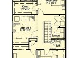 Craftsman Home Plans for Narrow Lots Narrow Lot Craftsman House Plan 64400sc Architectural