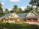 Craftsman Home Plans with Angled Garage Architectural Designs