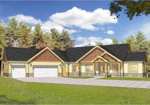 Craftsman Home Plans with Angled Garage Craftsman with Vaulted Ceilings and Angled Garage