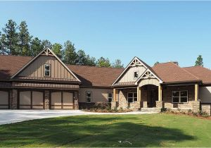 Craftsman Home Plans with Angled Garage Plan 36075dk Craftsman House Plan with 3 Car Angled