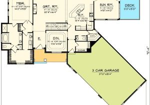 Craftsman Home Plans with Angled Garage Plan 89830ah Angled Garage Home Plan Bonus Rooms