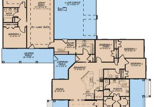 Craftsman Home Plans with Inlaw Suite L Shaped House Plans without Garage Unique Floor Plans