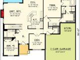 Craftsman House Plans with Open Floor Concept Architectural Designs
