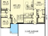 Craftsman House Plans with Open Floor Concept Craftsman with Open Concept Floor Plan 89987ah