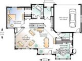 Craftsman House Plans with Open Floor Concept House Plan W2694a Detail From Drummondhouseplans Com