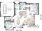 Craftsman House Plans with Open Floor Concept House Plan W2694a Detail From Drummondhouseplans Com Reverse
