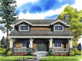 Craftsman Log Home Plans Craftsman Bungalow with Rustic Log Siding 11547kn