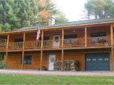 Craftsman Log Home Plans Hillside Log Home Plans Craftsman Log Home Plans
