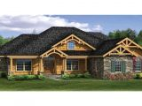 Craftsman Ranch Home Plans Craftsman House Plans with Walkout Basement Modern