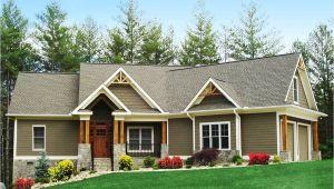 Craftsman Ranch Home Plans Craftsman Inspired Ranch Home Plan 15883ge