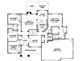 Craftsman Style Home Floor Plans Craftsman House Plans Goldendale 30 540 associated Designs