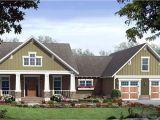 Craftsman Style Home Plan Single Story Craftsman House Plans Craftsman Style House