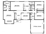 Crawl Space House Plans Jamison I 1732 Square Foot Ranch Floor Plan