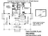 Crawl Space House Plans Small Stone Craftsman Bungalow House Plan Chp Sg 979 Ams