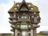 Crazy Home Plans Surreal and Weird Houses Designs Using Photo Montage