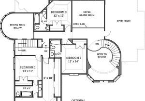 Create Home Floor Plans Hennessey House 7805 4 Bedrooms and 4 Baths the House