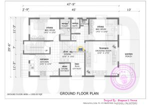 Create Home Floor Plans Maharashtra House Design with Plan Kerala Home Design