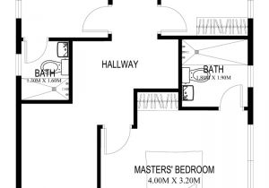 Create Home Floor Plans Two Story House Plans Series PHP 2014004