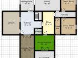 Create Home Plans Online Free Digital Smart Draw Floor Plan with Smartdraw software