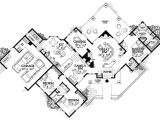 Creative Homes Floor Plans Creative Sante Fe Style Home Plan 81408w 1st Floor