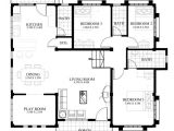 Creative Homes Floor Plans One Storey Modern House Plans Homes Floor Plans