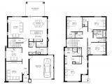 Creative Homes Floor Plans Simple Double Story House Plans Home Deco Plans