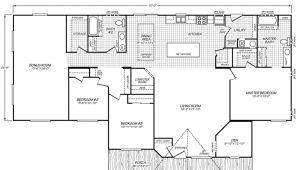 Crest Homes Floor Plans Waverly Crest 40703w Fleetwood Homes Manufactured Homes