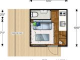 Cube House Design Layout Plan 100 Sq Ft Prefab Nomad Micro Home Could You Live This