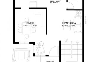 Cuney Homes Floor Plan Two Storey Houseplans 2014005 Ground Floor Plan House