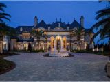 Custom Estate Home Plans Showcase Beautiful French Country Chateau Luxury House Plans