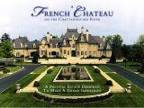 Custom Estate Home Plans Stephen Fuller Designs Palatial French Estate
