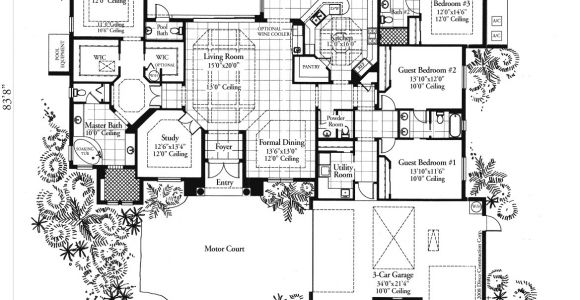 Custom Home Floor Plans Florida Divco Floor Plan the Madrid Divco Custom Home Builder