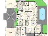 Custom Home Floor Plans Florida Luxury Villas Floor Plans