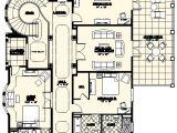 Custom Home Floor Plans Florida Villa Marina Floor Plan Alpha Builders Group