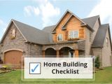 Custom Home Plans and Cost to Build Home Building Checklist Steps to Building A House Sdl