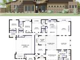 Custom Modern Home Plans Contemporary Side Courtyard Plan