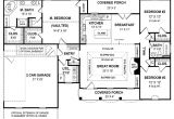 Custom One Story Home Plans Small One Story Cottages Small One Story House Plans