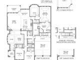 Darling Homes Floor Plans 6732 Plan Floor Plan at Newman Village Patio 65
