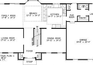 David James Homes Floor Plans Georgetown C David James Homes