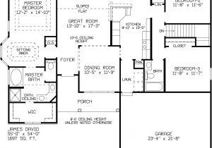David James Homes Floor Plans James David A David James Homes
