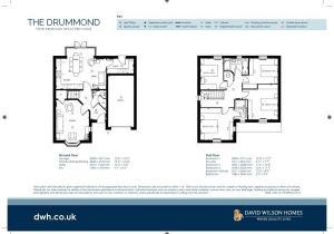 David Wilson Homes Floor Plans David Wilson Homes Moorcroft Floor Plan