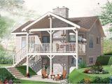 Daylight Basement Home Plans Walk Out Daylight Basement House Plan House Plans