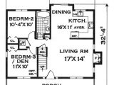 Design Basics Small Home Plans Basic Rectangle House Floor Plan First Floor Image Of